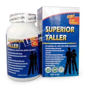7.Thuốc tăng chiều cao của mỹ cho người trưởng thành Superior Taller