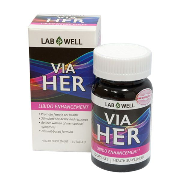 Viên uống tăng cường sinh lý nữ Via Her Libido Enhancement - Labwell |  EVASHOP.COM.VN