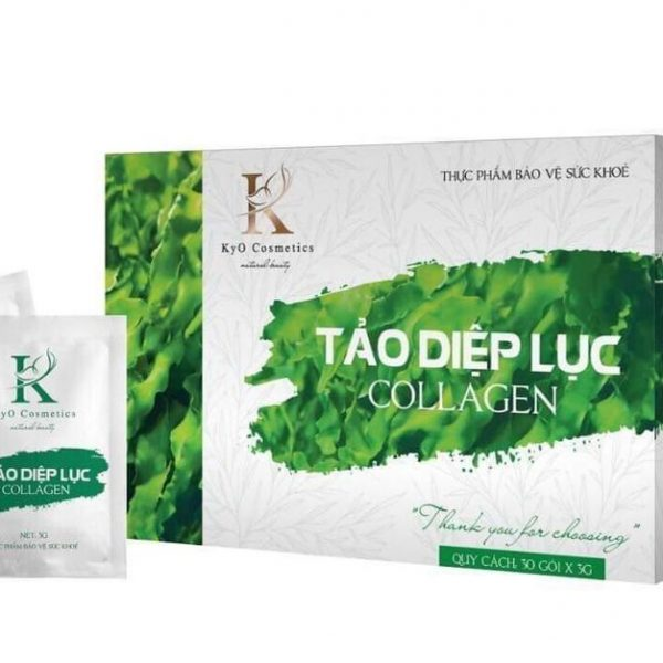 Tảo Diệp Lục Collagen – Khỏe ĐẹpTừ Bên Trong – Naturix