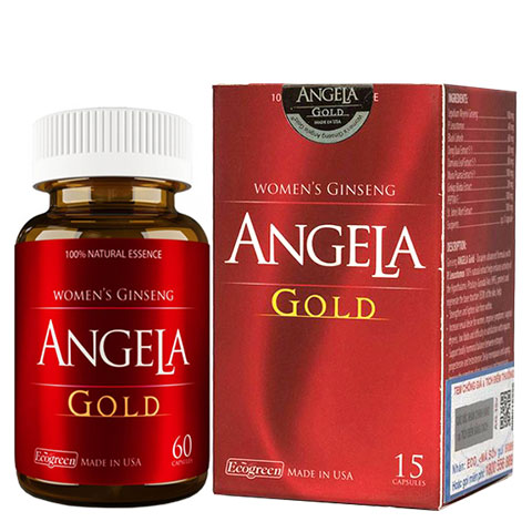Sâm Angela Gold dành cho phụ nữ tiền mãn kinh hộp 60 viên | Lazada.vn