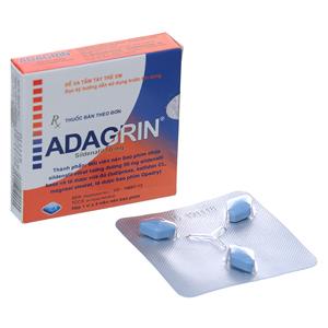 Thuốc Adagrin 50mg hộp 3 viên-Nhà thuốc An Khang