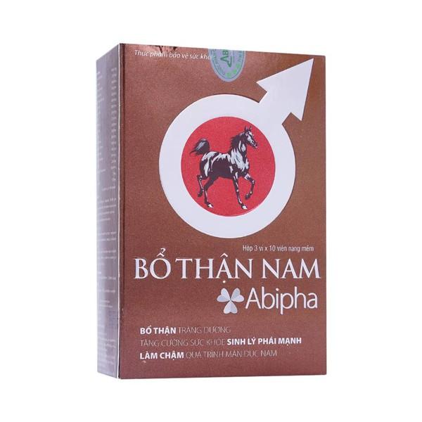 Thực Phẩm Bảo Vệ Sức Khỏe Bổ Thận Nam Abipha 30 Viên - Nhà thuốc Long Châu