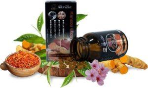 2.Cách thải độc gan tốt nhất với viên uống Kanzo Ukon Nhật Bản