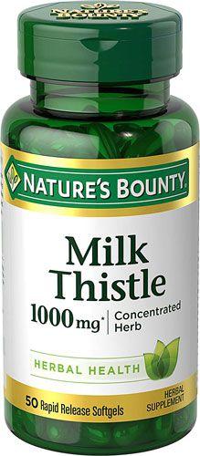 Viên Uống Giải Độc Gan Milk Thistle 1000mg - Nature's Bounty | Myan - Hàng  Mỹ nội địa