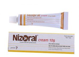 10. Thuốc chữa nấm móng chân, móng tay Nizoral Ketoconazol