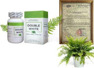 1.Viên uống trắng da cấp tốc Double White của Mỹ