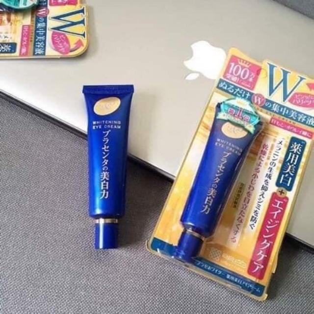Kem dưỡng mắt Meishoku Place Whiter Medicated Whitening Eye Cream tuýp 30g  | Shopee Việt Nam