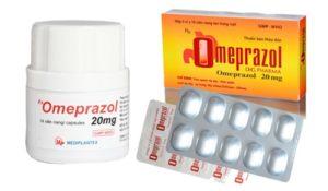 6.Thuốc điều trị đau dạ dày Omeprazol