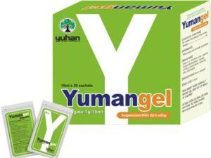 5.Yumangel – Thuốc chữa đau dạ dày chữ Y xuất xứ Hàn Quốc