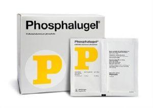 3.Thuốc đau dạ dày dạng sữa Phosphalugel - Thuốc đau dạ dày chữ P