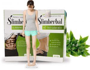 4.Thuốc giảm mỡ bụng Slimherbal : teo 7- 10 kg mỡ thừa dễ dàng