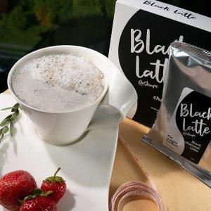 Black Latte : Bột trà giảm cân uống teo mỡ tự nhiên