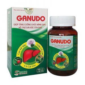 3.Viên giải độc gan GANUDO - Thuốc mát gan giải độc tốt nhất