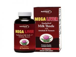 8.MEGA LIVER - Thuốc mát gan giải độc tốt nhất