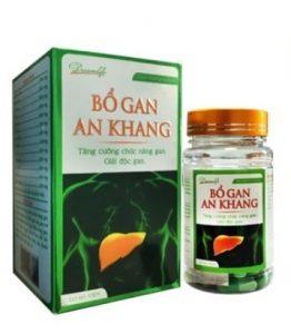 10.Thuốc bổ gan An Khang - Bí quyết Vàng giúp bạn có lá gan khỏe mạnh