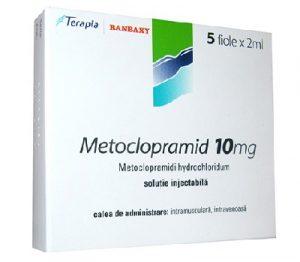 2. Bị trào ngược dạ dày uống thuốc gì - Metoclopramid