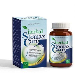 1.Thuốc trị trào ngược dạ dày thực quản HERBAL STOMAXCARE