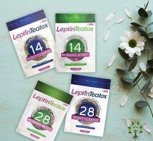 3.Trà giảm cân của mỹ Leptin Teatox
