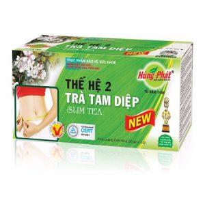 2.Trà giảm cân Tam Diệp – thuốc giảm cân của người Việt