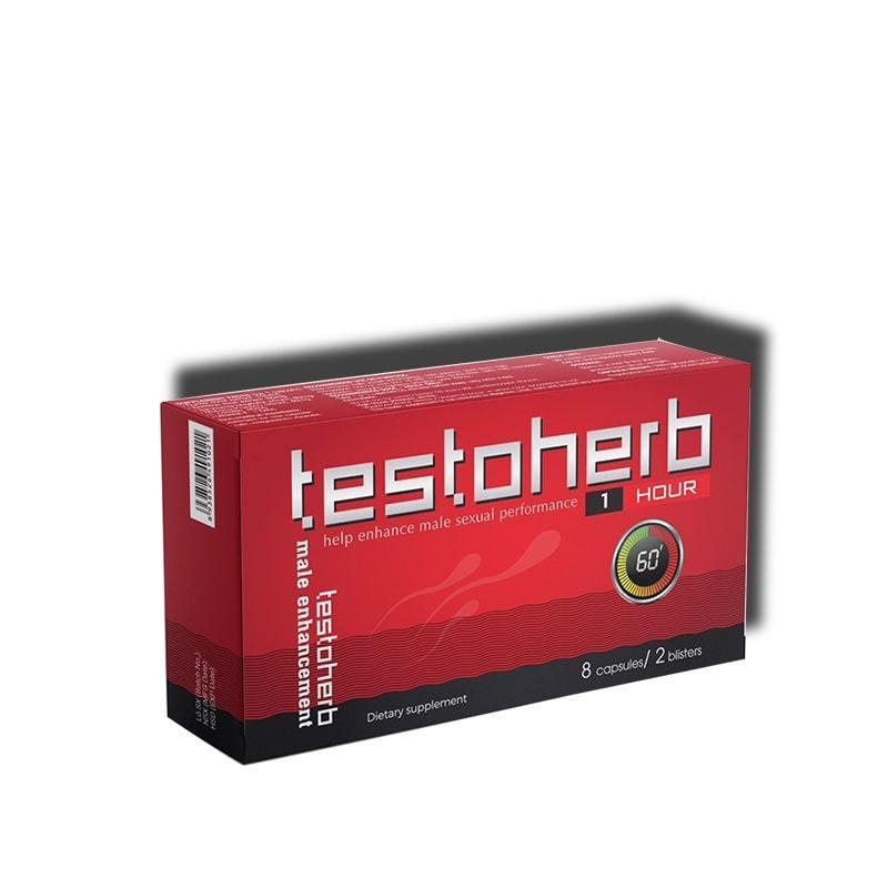 Thuốc bổ thận Testoherb 1hour ⬆️ 1 giờ (Hộp 2 vỉ 8 viên)