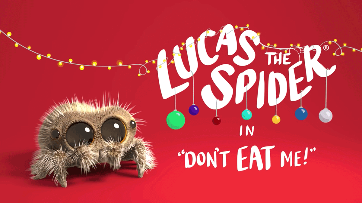 Lucas the Spider - Don't Eat Me!