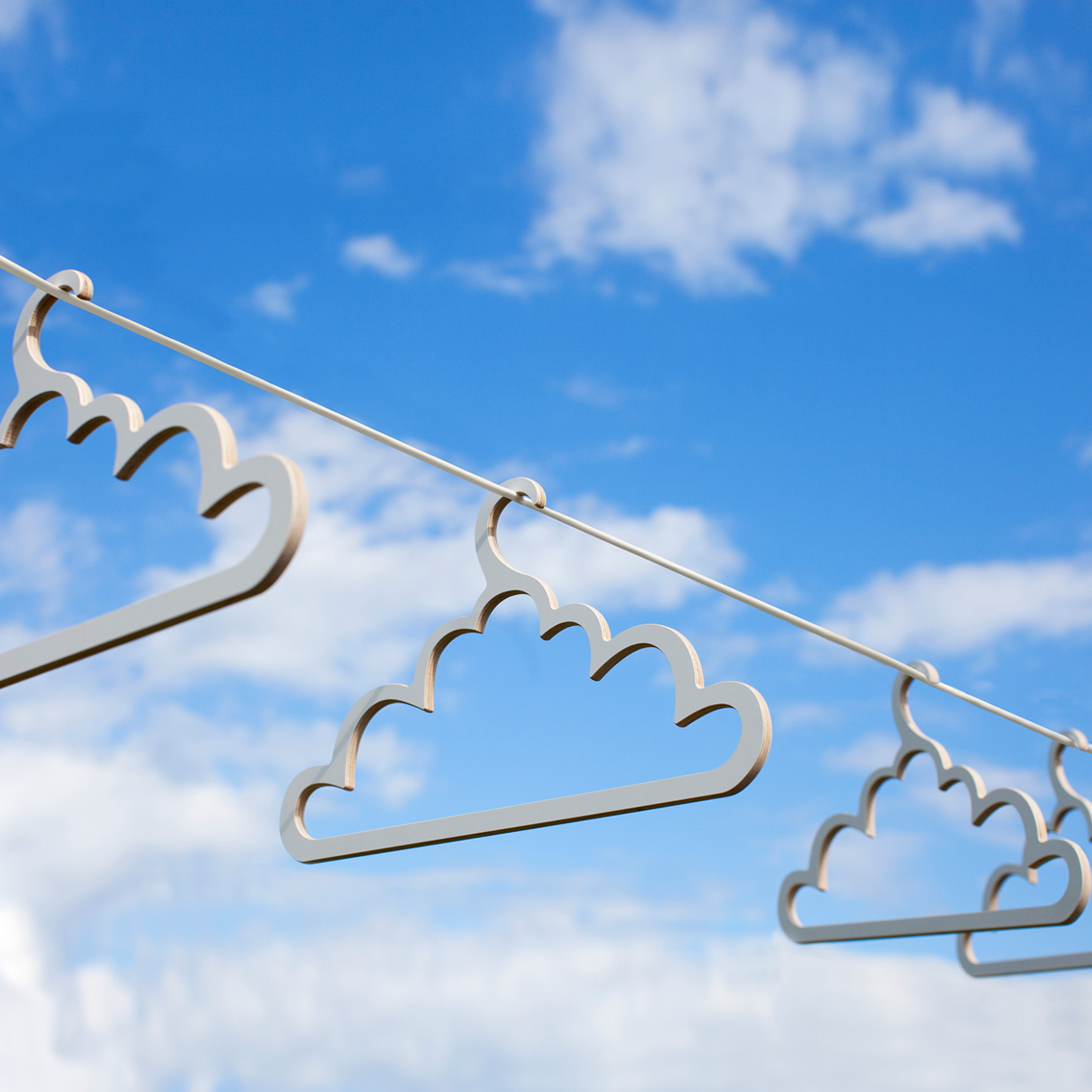 Cloud clot hangers
