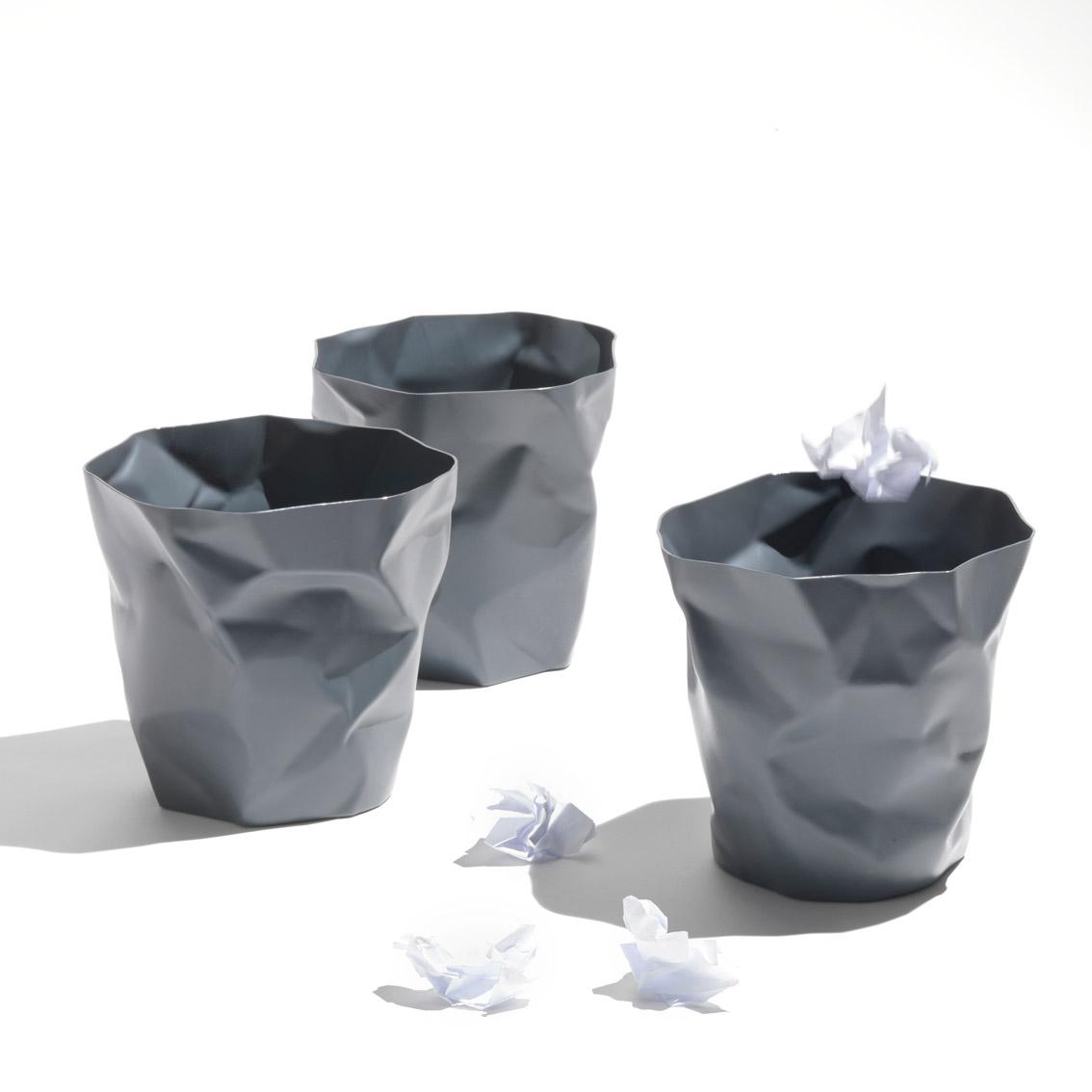 Bin Bin paper waste basket Grey
