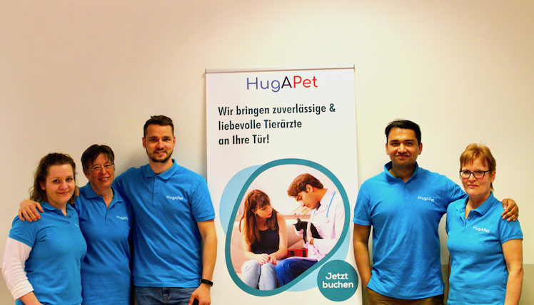 HUG A PET Teamfoto