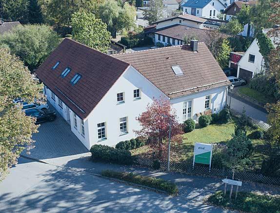 Das Gebäude der pisa Versicherungsmakler GmbH