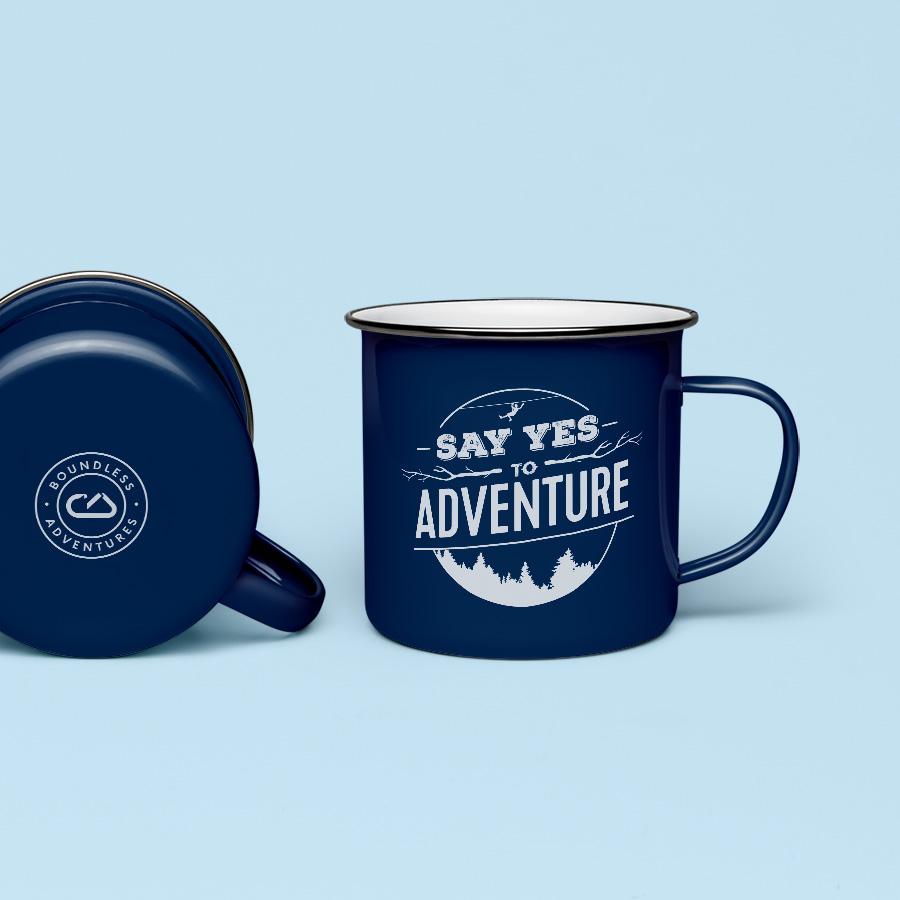 Boundless Adventure Mug Design