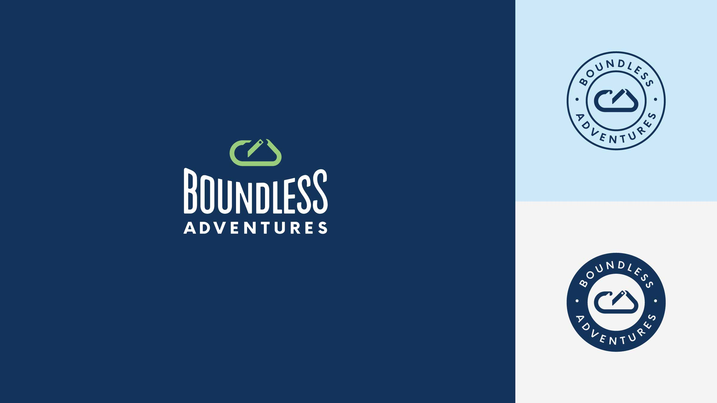 Visual Identity / Logo for Boundless Adventures