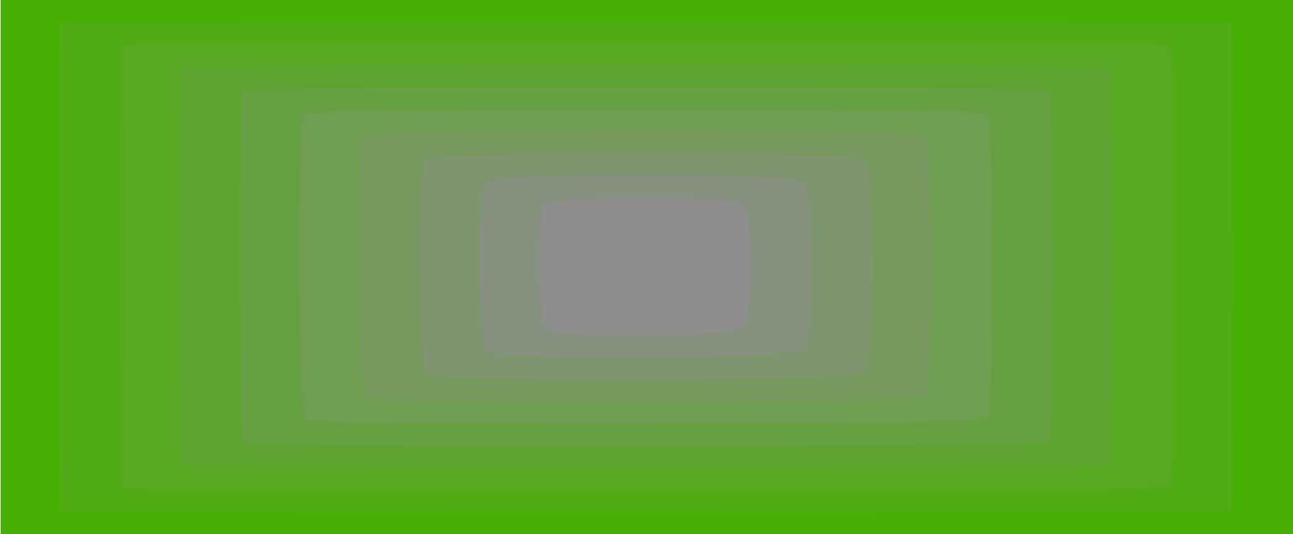 green and grey gradient  - it's just standing still, no motion