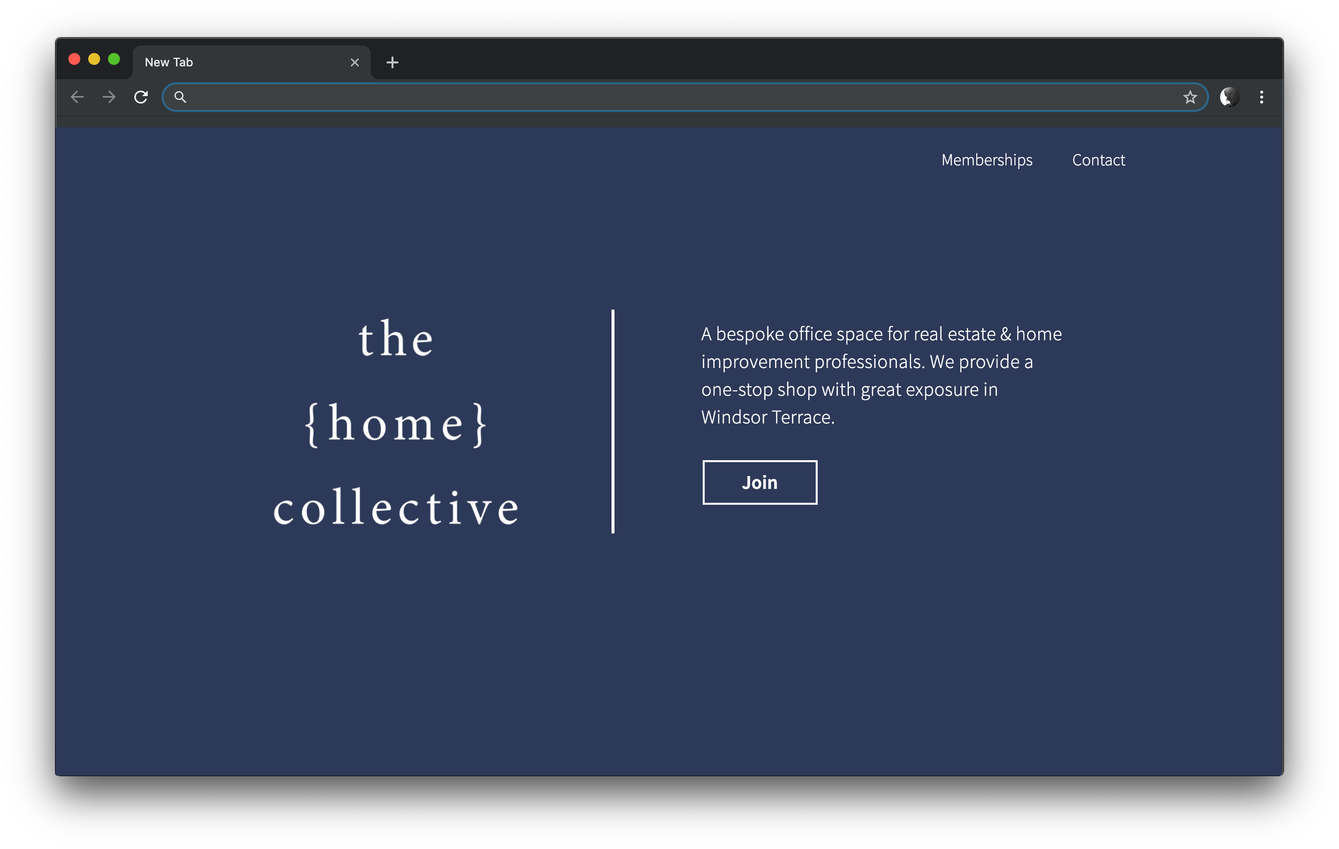 Web Design for Home Collective