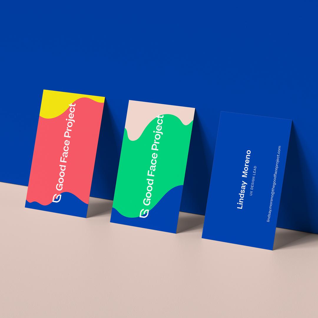 Brand Development & Website Design for Good Face Project