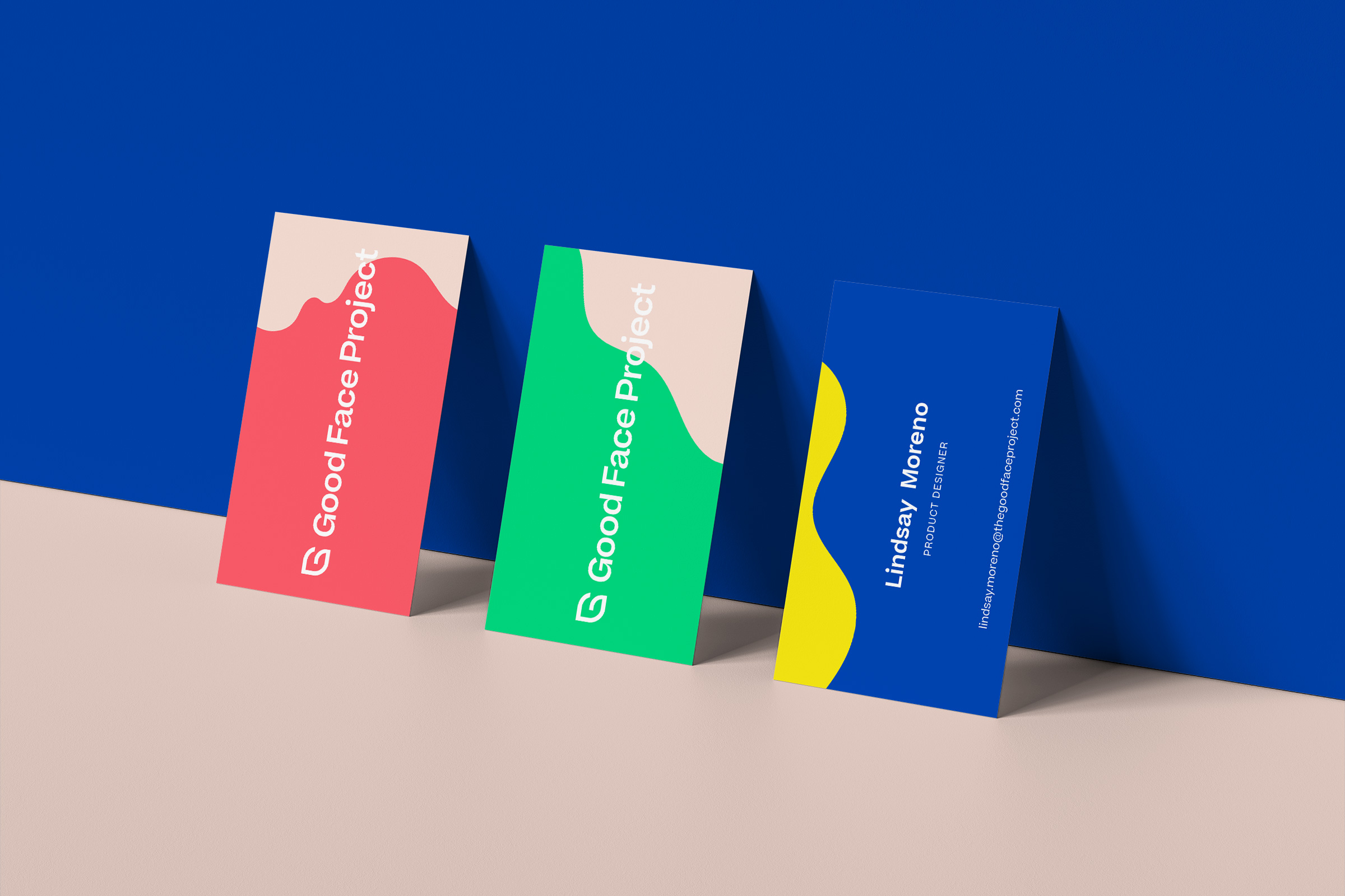 Collateral Design for The Good Face Project by Condensed