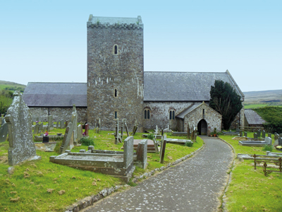 St Cenydd's Church photo