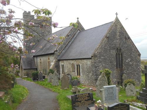 ST RHIDIAN & ST ILLTYD'S CHURCH, LLANRHIDIAN SA3 1ER