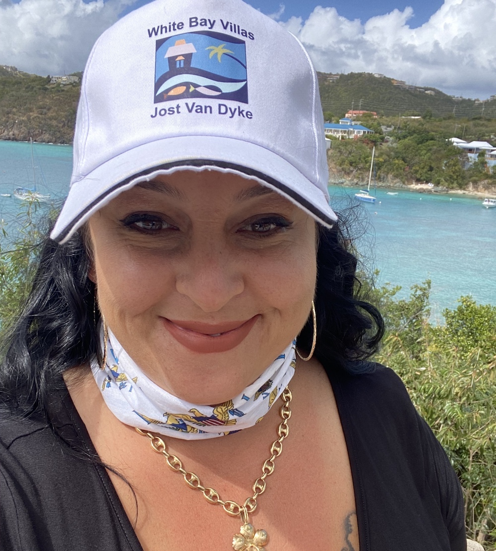 Lucy Getting ready to leave St. Thomas!