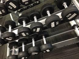 Shelf of weights