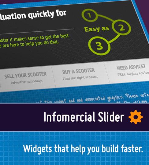 Infomercial Slider