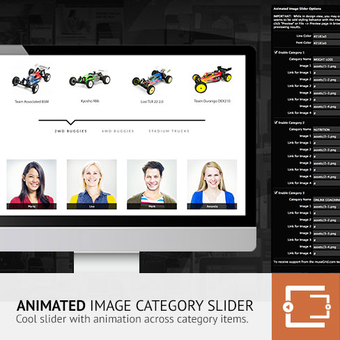 Animated Image Slider