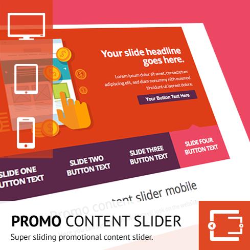 Promo Content Slider