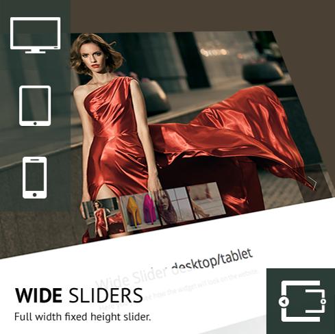 Wide Sliders
