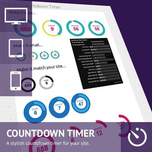 Circles Countdown Timer