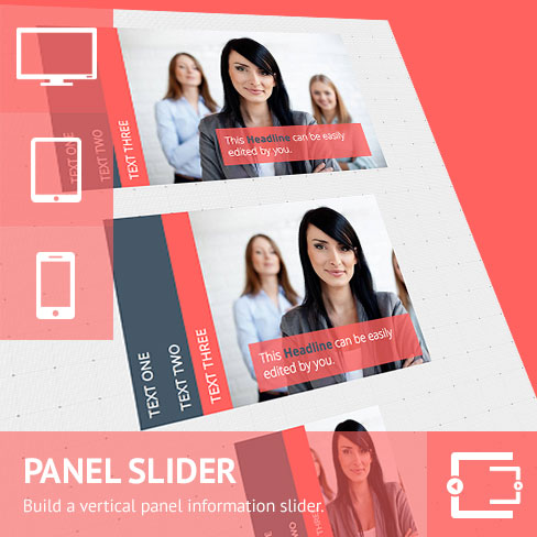 Vertical Panel Slider