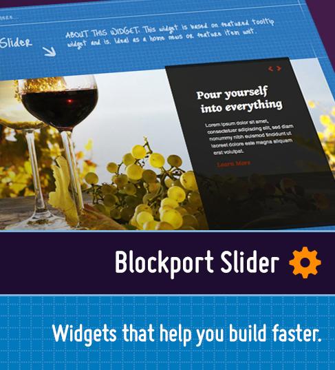 Blockport Slider
