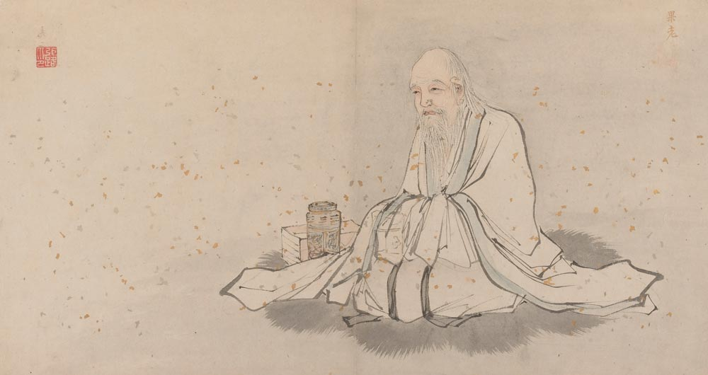 Depiction of the Daoist immortal Zhang Guolao.