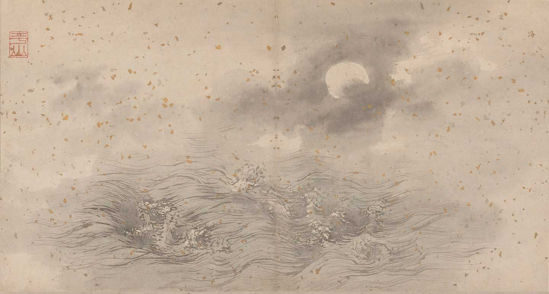 Depiction of an ocean