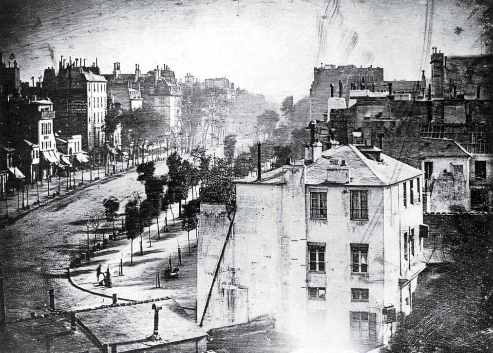 Boulevard du Temple Louis Daguerre