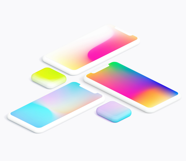 Free gradient collection – 100 handcrafted gradients
